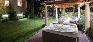 J-445 Jacuzzi hot tub installation in Duncan and Nanaimo, BC